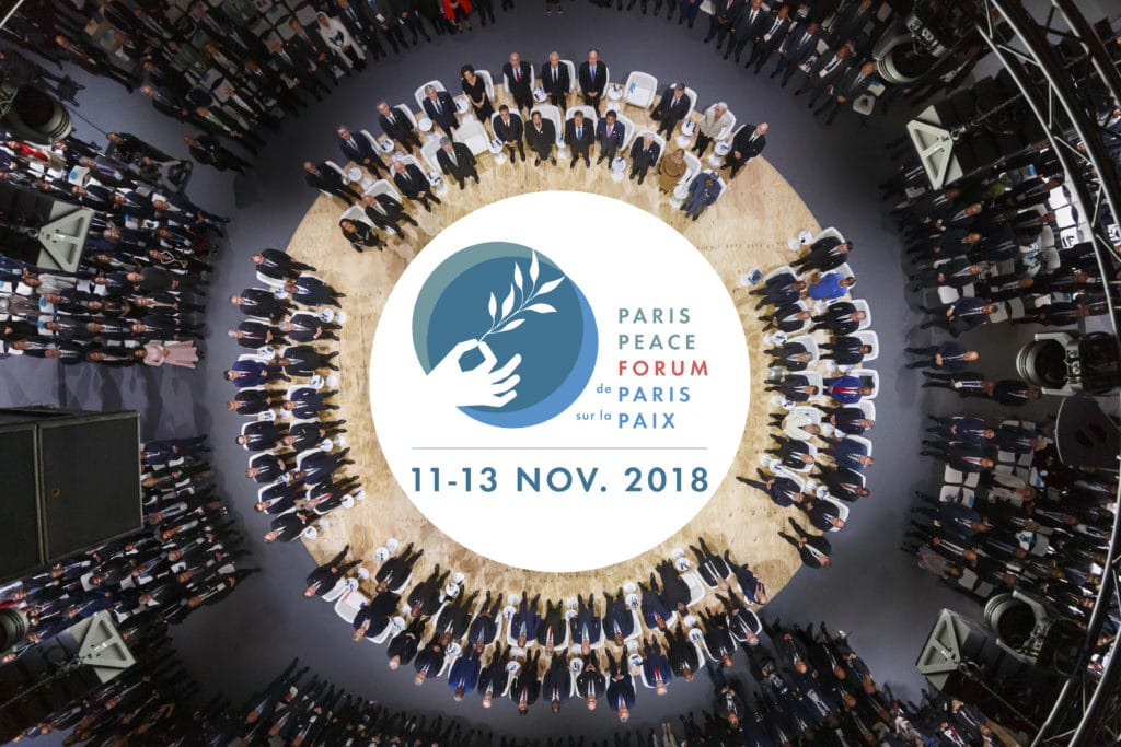 Paris Peace Forum - brochure 2018