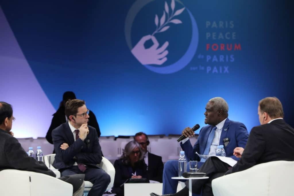Session Paris Peace Forum