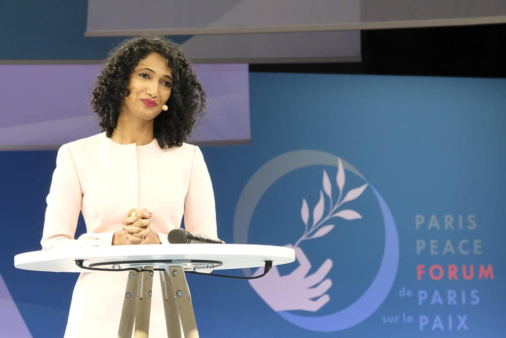Trisha Shetty Paris Peace Forum