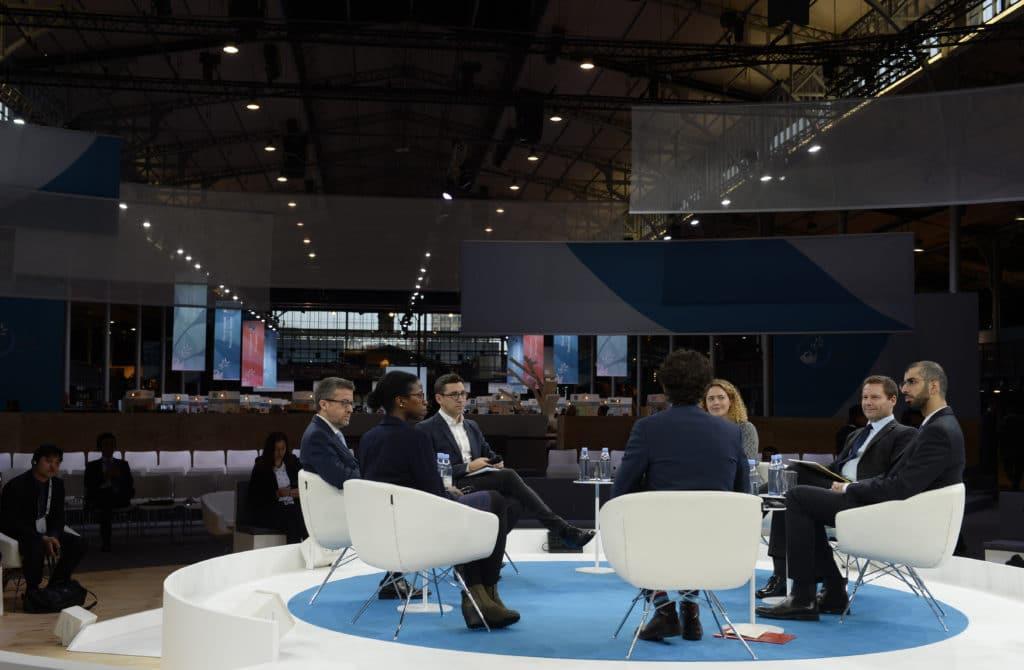 AI debate Paris Peace Forum 2018