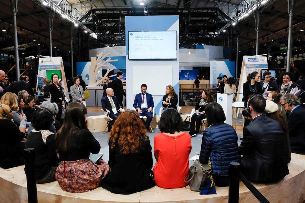 Paris Peace Forum debate session 2018