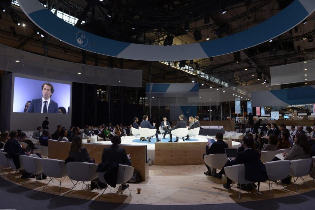 AI Facebook panel Paris Peace Forum