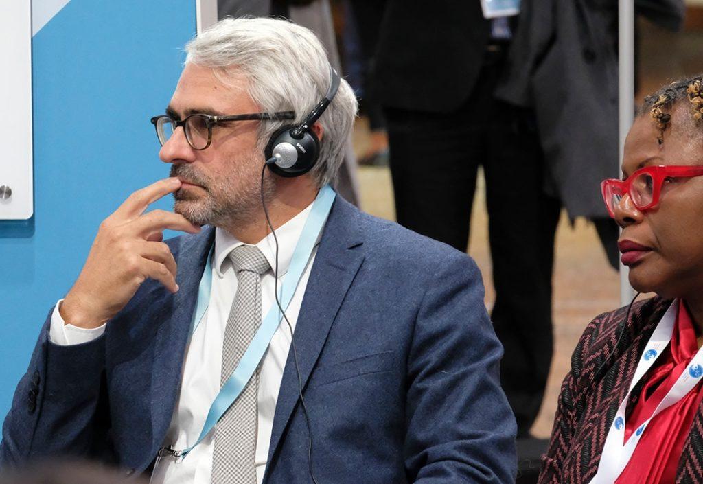 Pascal Saint-Amans Paris Peace Forum 2018