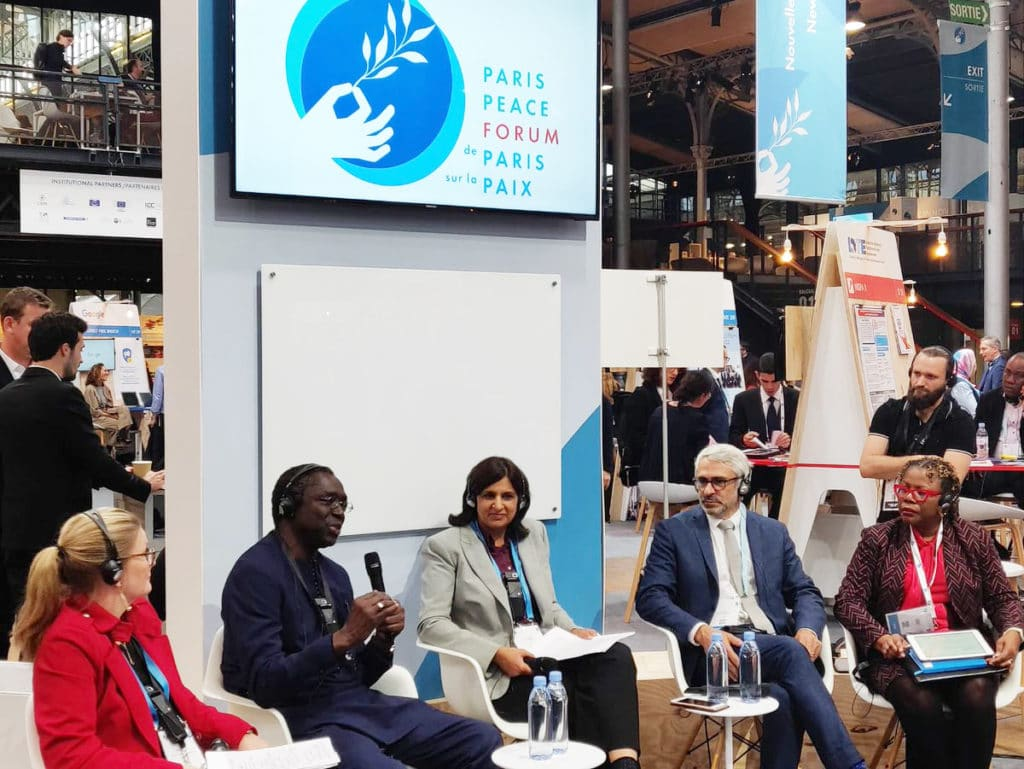 Paris Peace Forum 2018 panel fiscal erosion tax evasion