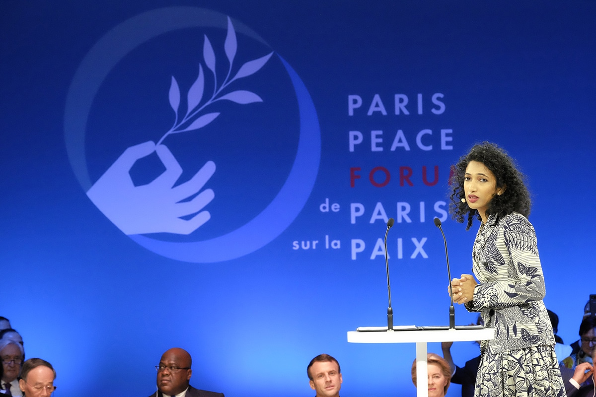 trisha shetty paris peace forum