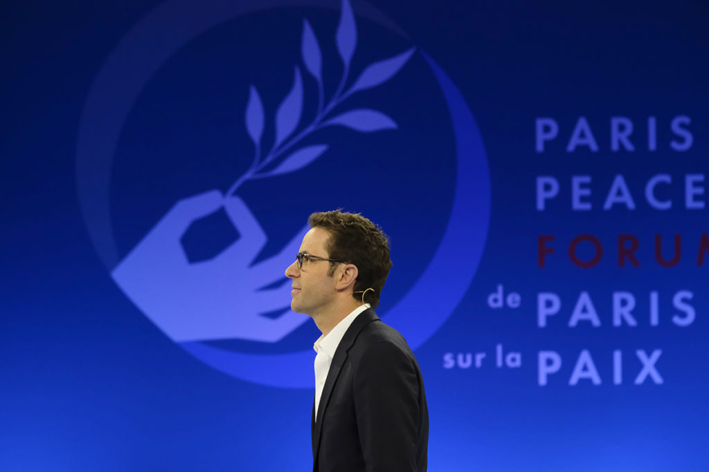 justin vaisse paris peace forum
