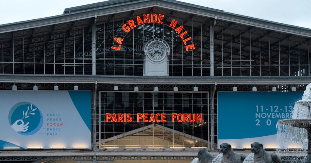 paris peace forum grande halle de la villette